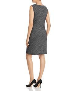 Misook - Diagonal Stripe Dress