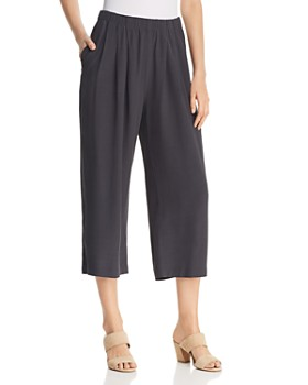 bc8928e537a6 Eileen Fisher - Wide-Leg Cropped Pants - 100% Exclusive ...