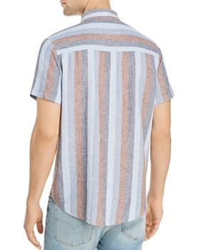 Rails - Carson Striped Short-Sleeve Regular Fit Shirt