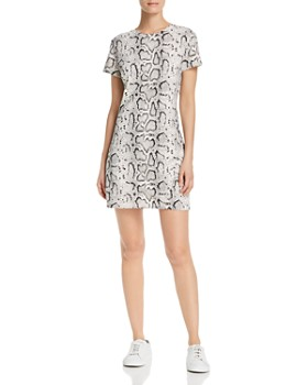 PAM & GELA - Snake Print T-Shirt Dress - 100% Exclusive