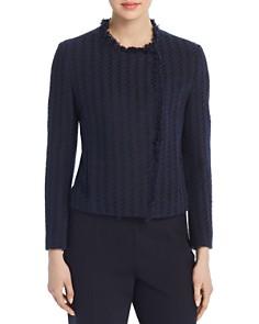 BOSS - Jicara Tweed Fringe Jacket