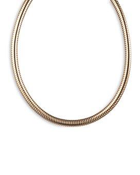 "Ralph Lauren - Omega Collar Necklace, 16"""