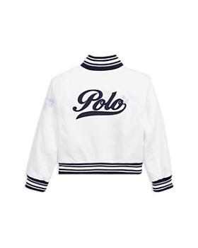Ralph Lauren - Girls' Chino Baseball Jacket - Little Kid