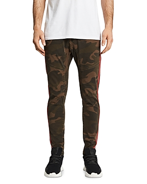 Nxp Pants BASELINE CAMOUFLAGE-PRINT SLIM FIT PANTS