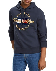Tommy Hilfiger - Icon Embroidered Logo Hooded Sweatshirt