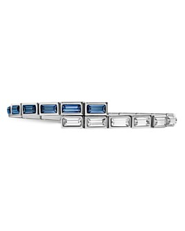 Atelier Swarovski - Core Collection Fluid Azzurro Skinny Wrap Bracelet