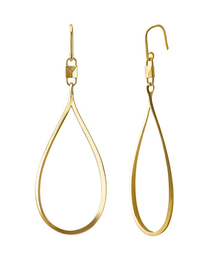 8496e2a4a3cc7d Michael Kors - Mercer Large Teardrop Earrings in 14K Gold-Plated Sterling  Silver, 14K