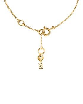 Michael Kors - Love Tile Line Bracelet in 14K Gold-Plated Sterling Silver