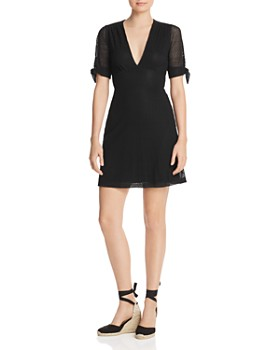 Nightcap - Mesh-Lace Mini Dress