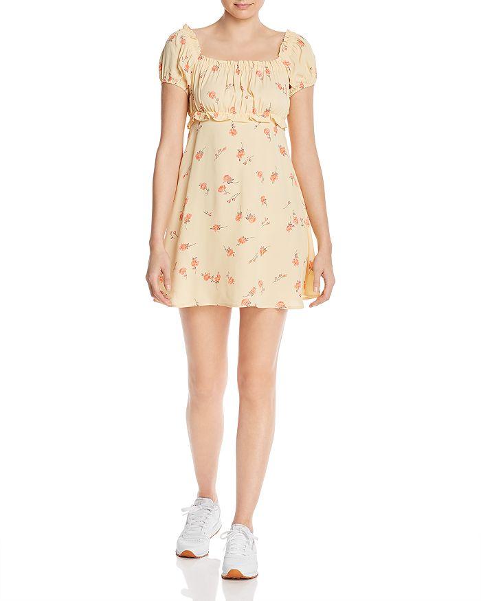 Flynn Skye - Lou Floral-Print Mini Dress