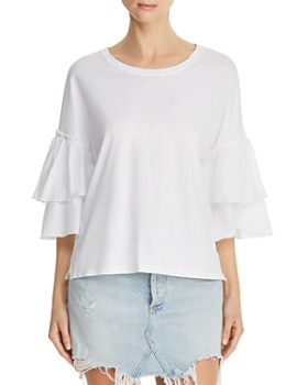 ATM Anthony Thomas Melillo - Ruffle-Sleeve Top