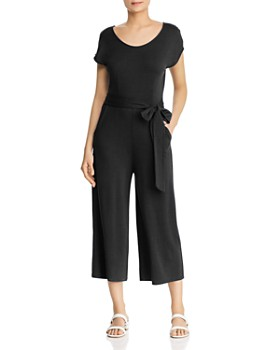 Cupio - Cropped Wide-Leg Jumpsuit