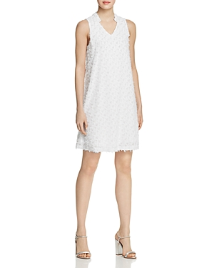 Nic And Zoe Dresses NIC+ZOE CLIP IT UP TEXTURED SHIFT DRESS