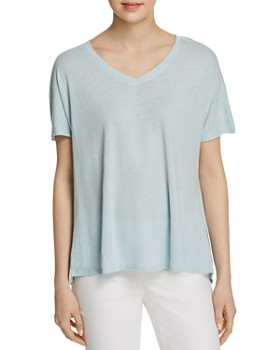 NIC and ZOE - All Day Shirred-Back Tee