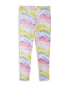 Mini Series - Girls' Tie-Dyed Leggings, Little Kid - 100% Exclusive