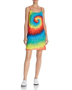 Alice and Olivia - Emmie Tie-Dye Slip Dress