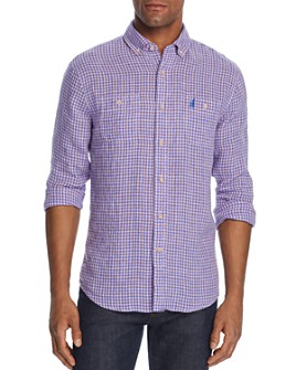 Johnnie-O - Alec Gingham Regular Fit Button-Down Sports Shirt