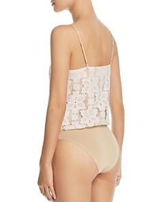 WAYF - Lizzie Crossover Lace Bodysuit