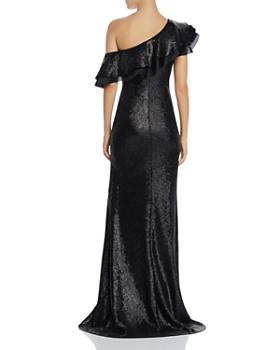 Rachel Zoe - Jaz One-Shoulder Sequined Gown