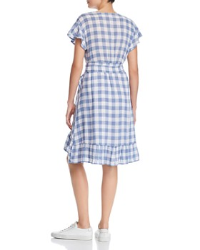 Rails - Brigitte Gingham Wrap Dress