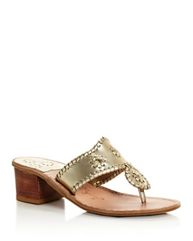 Jack Rogers - Women's Jacks Block Heel Thong Sandals
