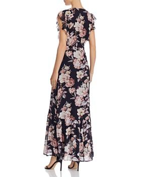 PAIGE - Maquel Silk Floral Maxi Dress