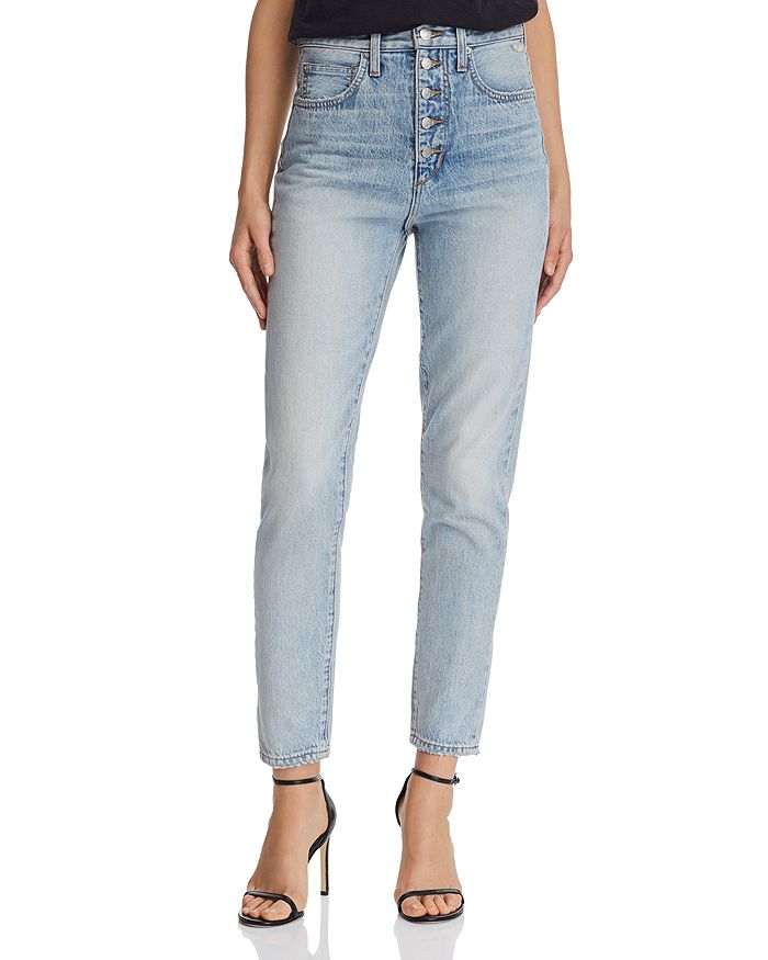 8afc24d9 Joe's Jeans - x WeWoreWhat The Danielle High-Rise Straight Jeans in Vintage  Light