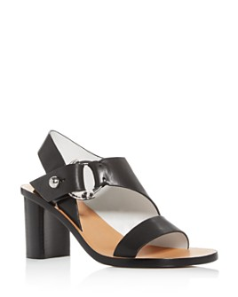 rag & bone - Women's Arc Cutout Slingback Block-Heel Sandals
