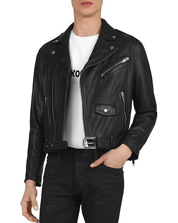 The Kooples - Leather Moto Jacket