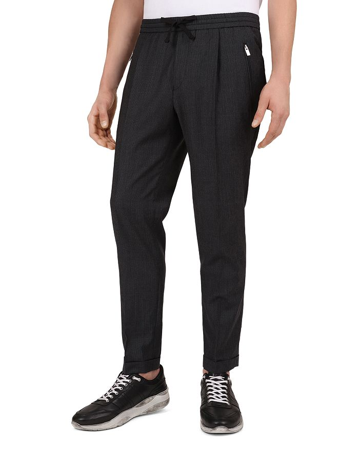 The Kooples - Striped Slim Fit Trousers