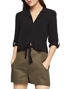 Bcbgeneration Tops BCBGENERATION TIE-FRONT TOP