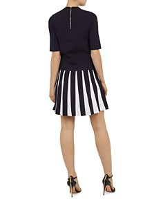 Ted Baker - Hethia Knit Layered-Look Dress