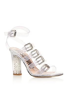 Moschino - Women's Strappy High-Heel Sandals - 100% Exclusive