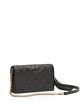 Tory Burch - Fleming Leather Wallet Crossbody