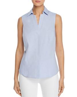 Foxcroft - Taylor Sleeveless Non-Iron Cotton Shirt