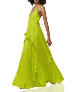HALSTON HERITAGE - Pleated Dress