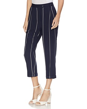 4d2ffdb8da VINCE CAMUTO - Striped Cropped Pants ...