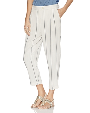 Vince Camuto Pants STRIPED CROPPED PANTS
