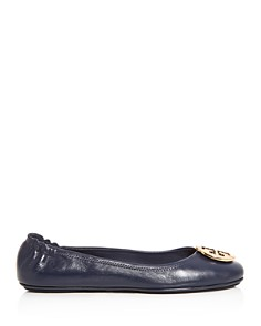 Tory Burch - Women's Minnie Travel Ballet Flats