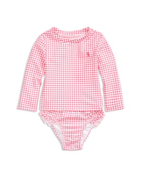 b596d9813c6 Ralph Lauren - Girls  Gingham Two-Piece Swimsuit - Baby ...