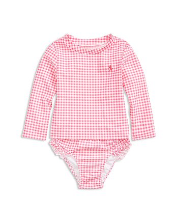 Ralph Lauren - Girls' Gingham Two-Piece Swimsuit - Baby