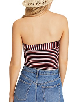 Free People - Show Me Striped Tube Top