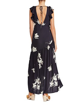 Free People - She's A Waterfall Floral-Print Maxi Dress