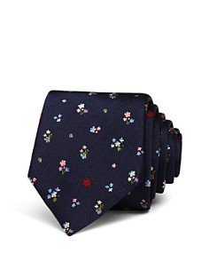 Paul Smith - Floral Skinny Tie