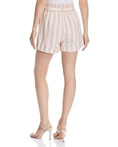 CHRISELLE LIM - Paperbag-Waist Striped Shorts
