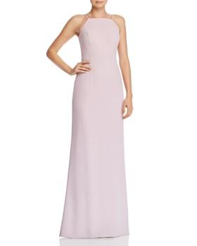 Aidan by Aidan Mattox - Ruffle-Trimmed Gown