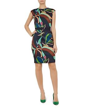 299420341c43a Ted Baker - Adilyyn Supernatural-Print Dress ...