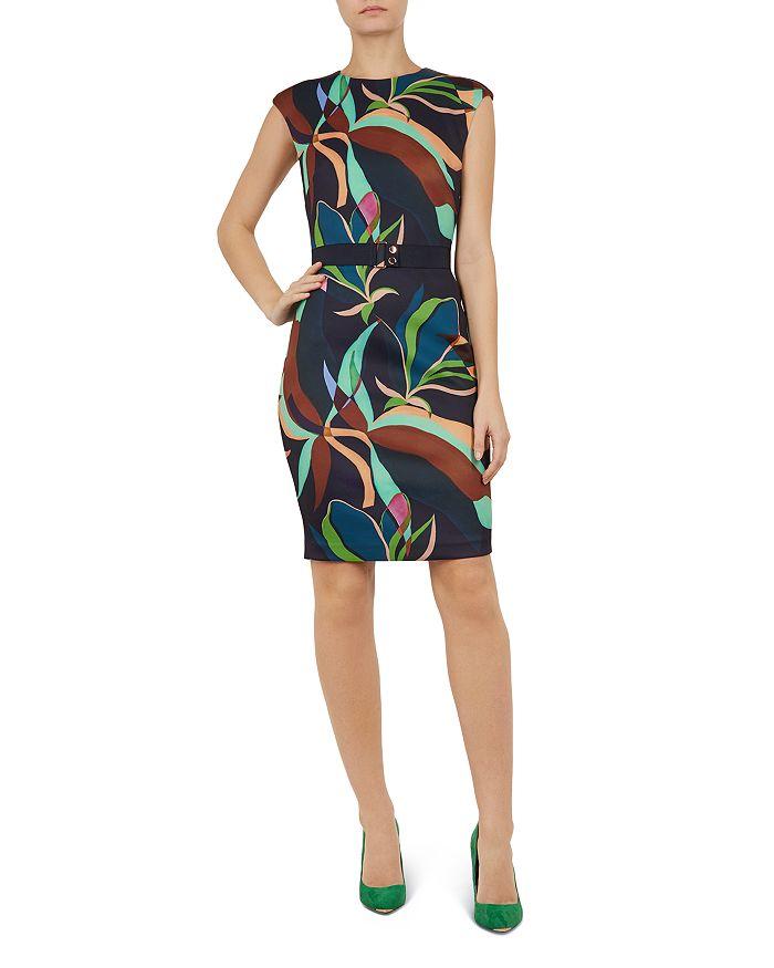 Ted Baker - Adilyyn Supernatural-Print Dress