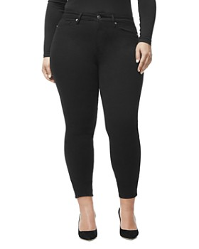 Good American - Good Legs Ankle Skinny Jeans in Black001
