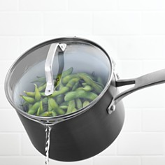 Calphalon - Classic Nonstick Strain-and-Pour 2.5-Quart Saucepan with Cover